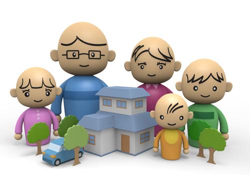 Environment clipart home environment. Children family clip art