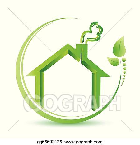 Environment clipart home environment. Vector illustration eco friendly
