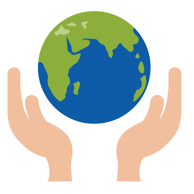 Protect the earth free. Environment clipart icon
