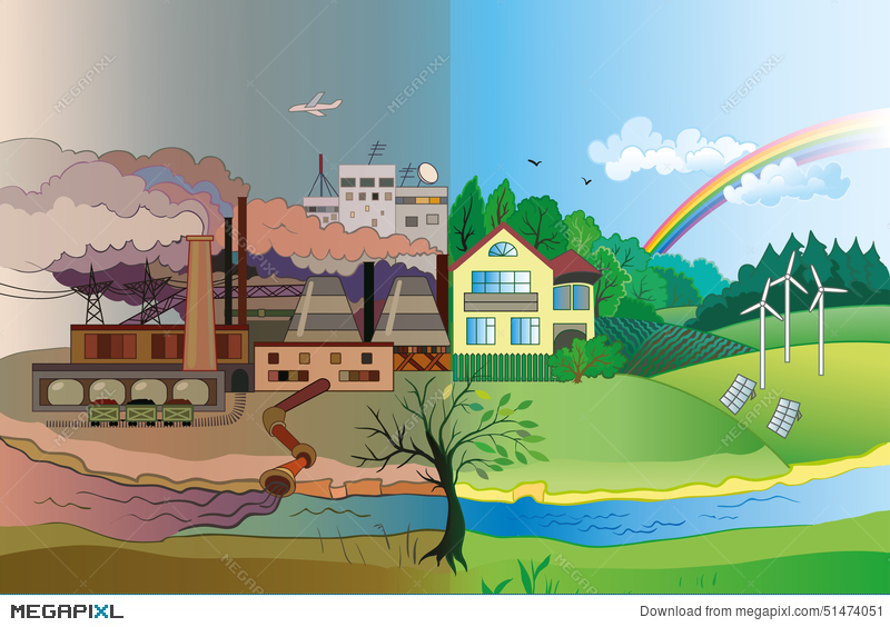 Environmental and protection . Environment clipart pollution free environment