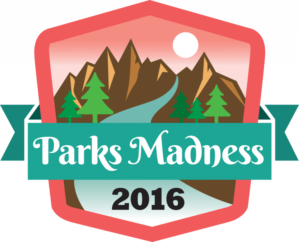 Environment clipart scenic drive. Parks madness logo the