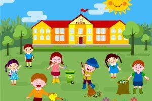 Environment clipart school environment. Clean portal