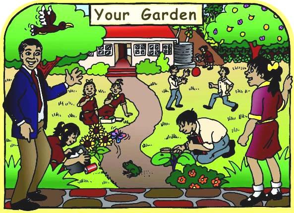 Environment clipart school garden. Clean clip art library
