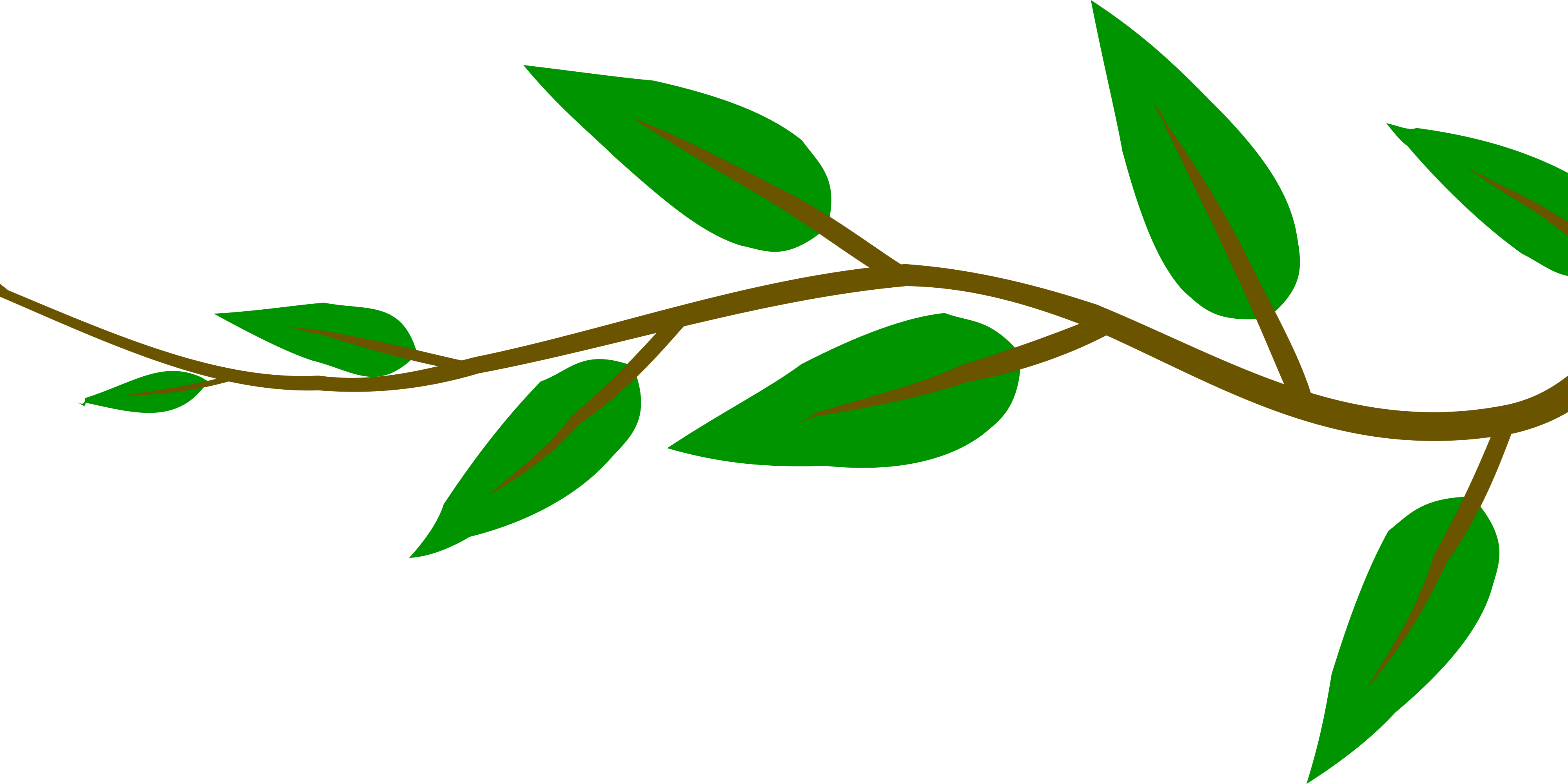 Environment clipart short tree. Small branch with green