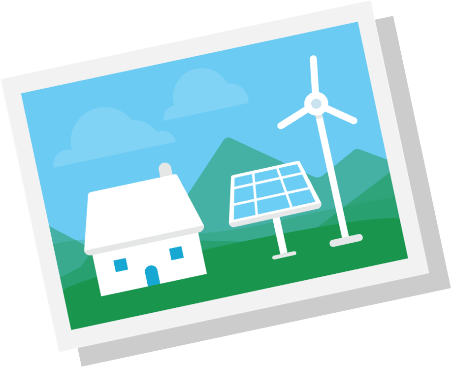 Environment clipart sustainable house. Traditions green mountain energy