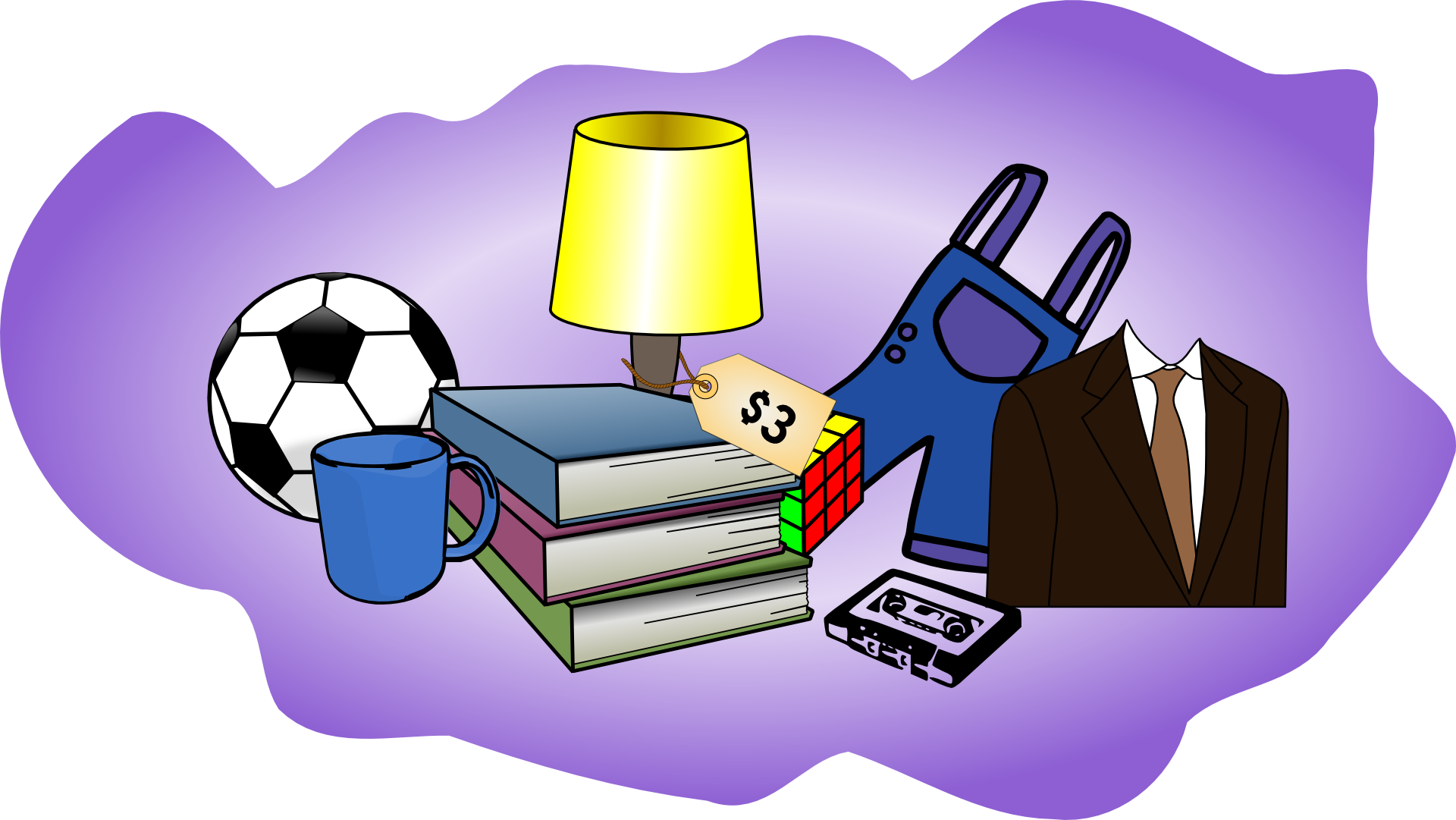 Host a yard sale. Environment clipart sustainable house