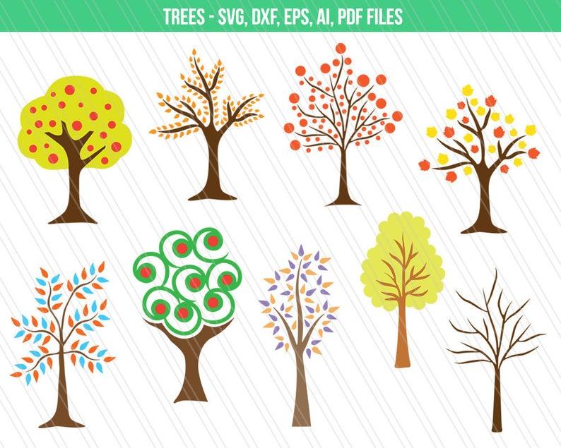 Tree vector cricut cut. Environment clipart svg