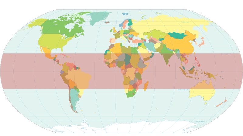 Locational systems geographical zones. Environment clipart temperature earth