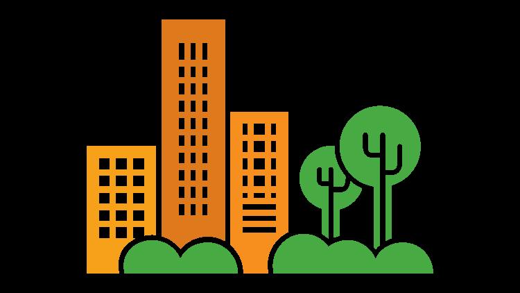 environment clipart urban development #100947363