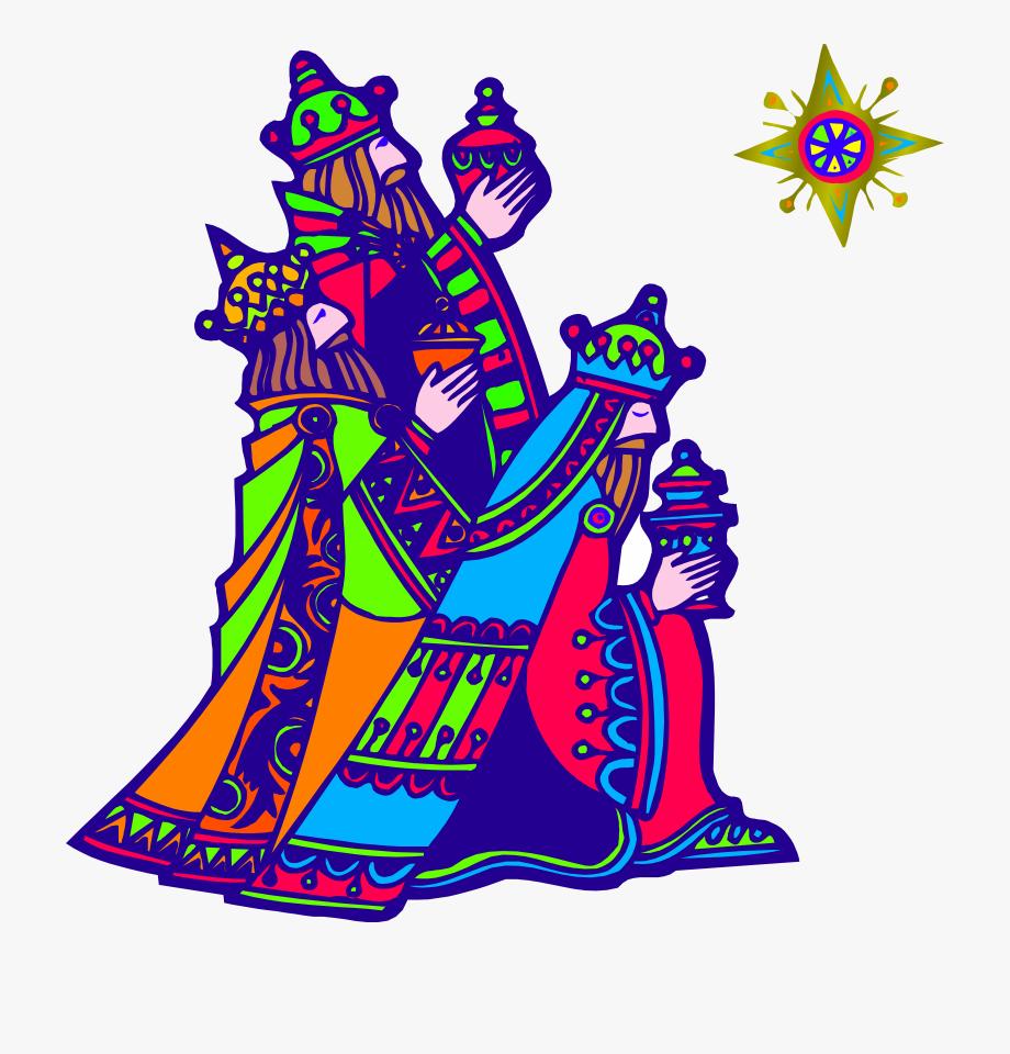 Epiphany clipart kings. Biblical magi drawing we