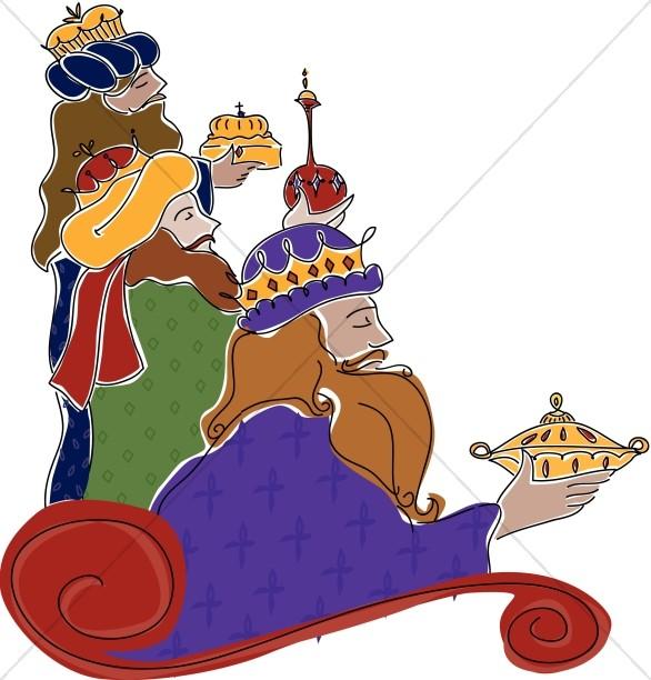 Epiphany clipart wise men. Three wisemen