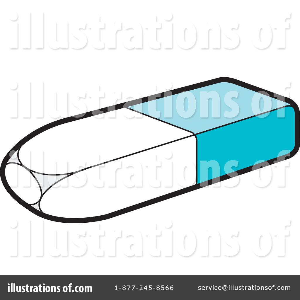 Illustration by lal perera. Eraser clipart
