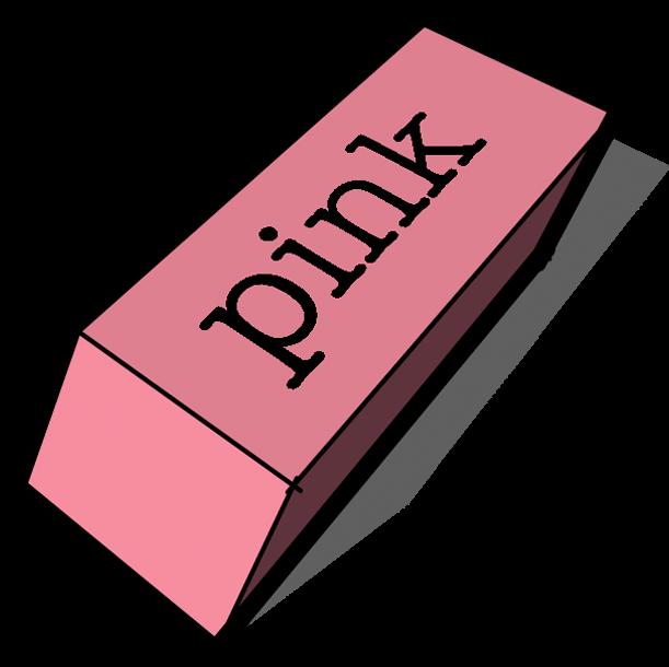 Eraser clipart big pink. Tool sketch up png