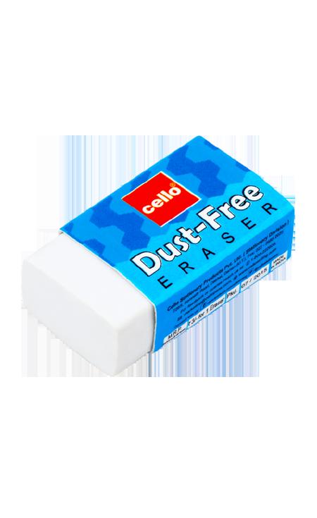 Eraser clipart blue. Cello dust free