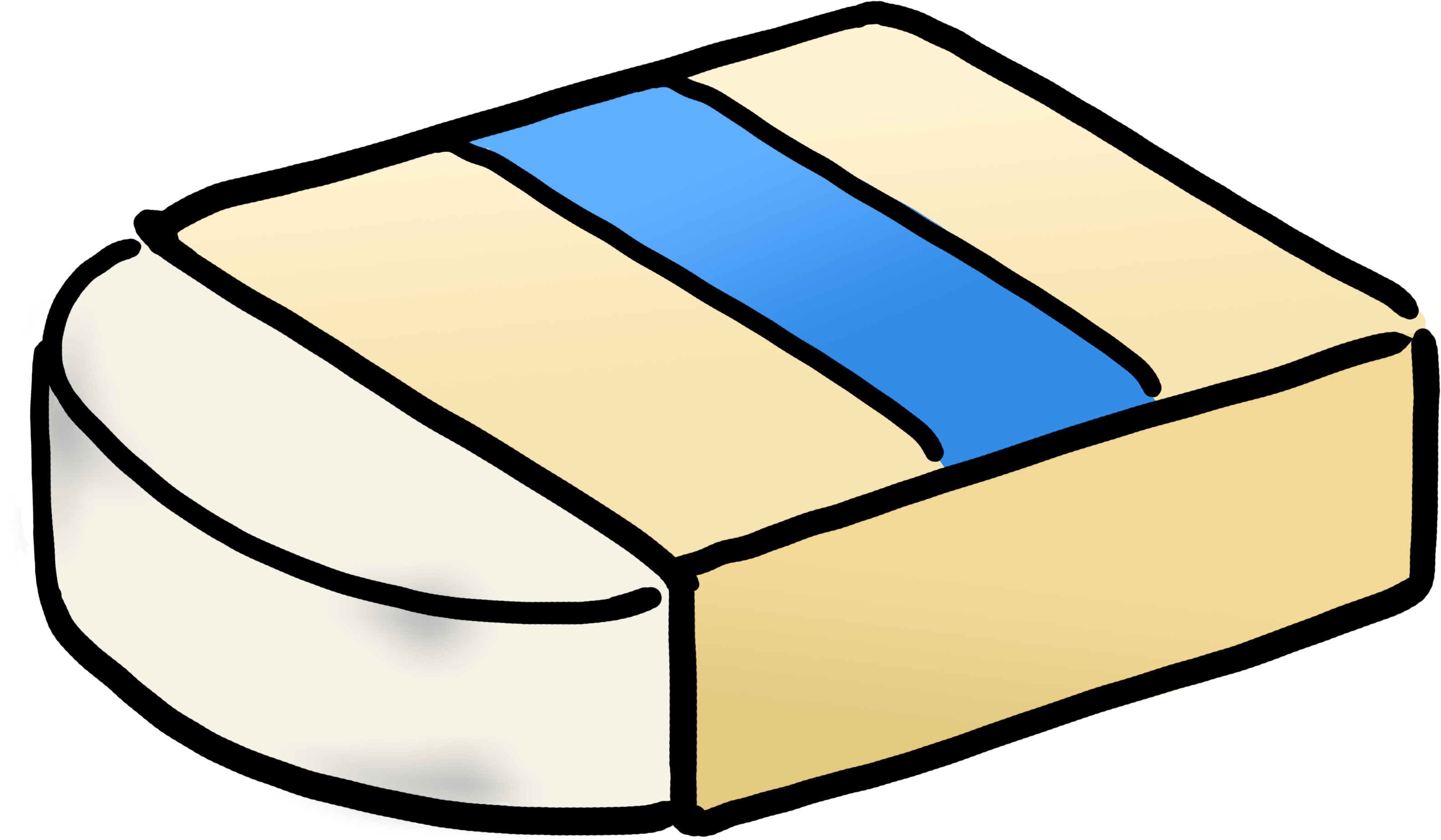 Download free png viewing. Eraser clipart cartoon