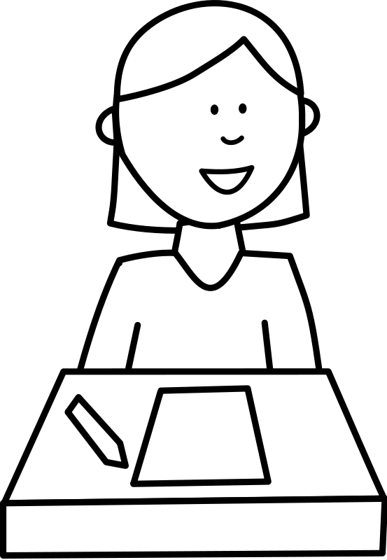 l ve student. Eraser clipart classroom item
