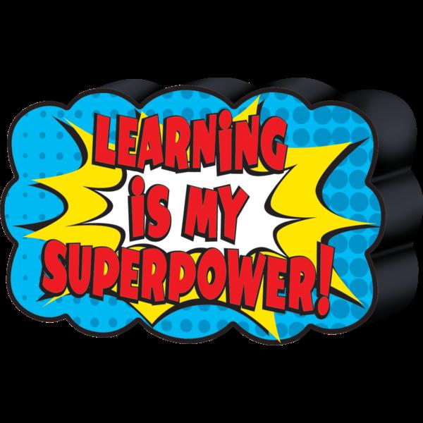 Eraser clipart classroom item. Superhero magnetic whiteboard