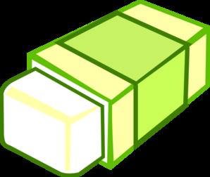 Eraser clipart green. Clip art at clker