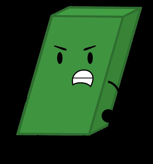 Image green pose png. Eraser clipart horizontal