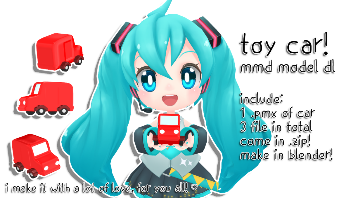 Noodle clipart mee. Mmd dl toy car