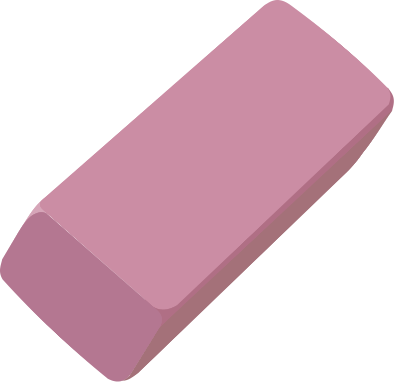 Eraser clipart kid.  collection of pink