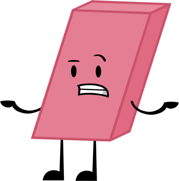 Image pose png shows. Eraser clipart object