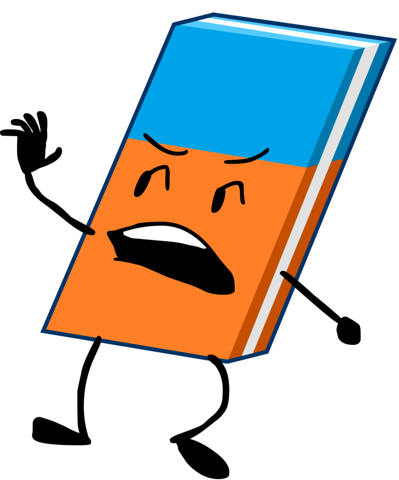 Eraser clipart object. Activate by huangislandofficial on
