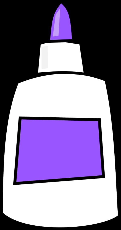 Clip art purple best. Glue clipart cute