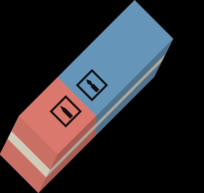 Eraser clipart ruber. Medium image png