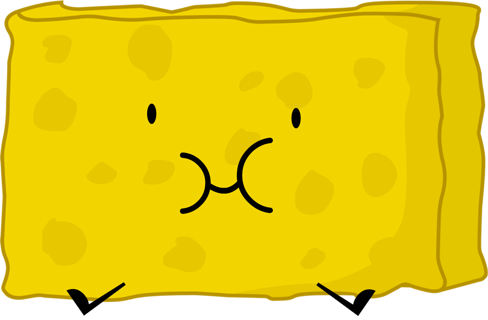 Image spongy png spongebob. Eraser clipart yellow