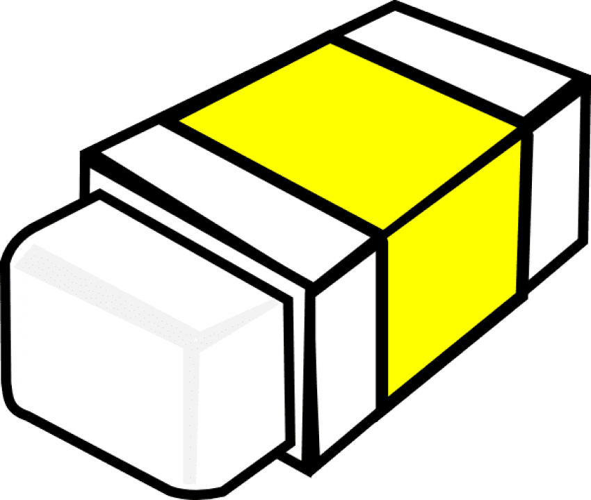 Eraser clipart yellow. Png free images toppng