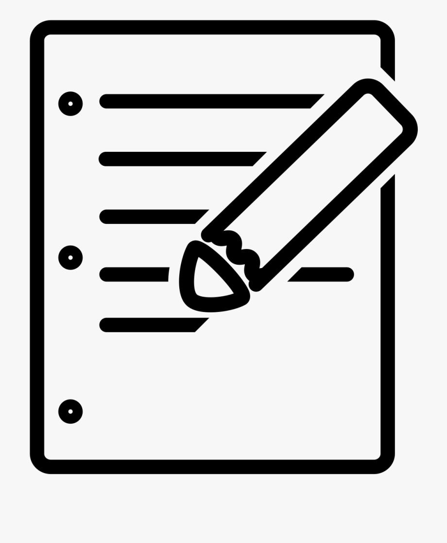 Essay clipart clip art. Test question free