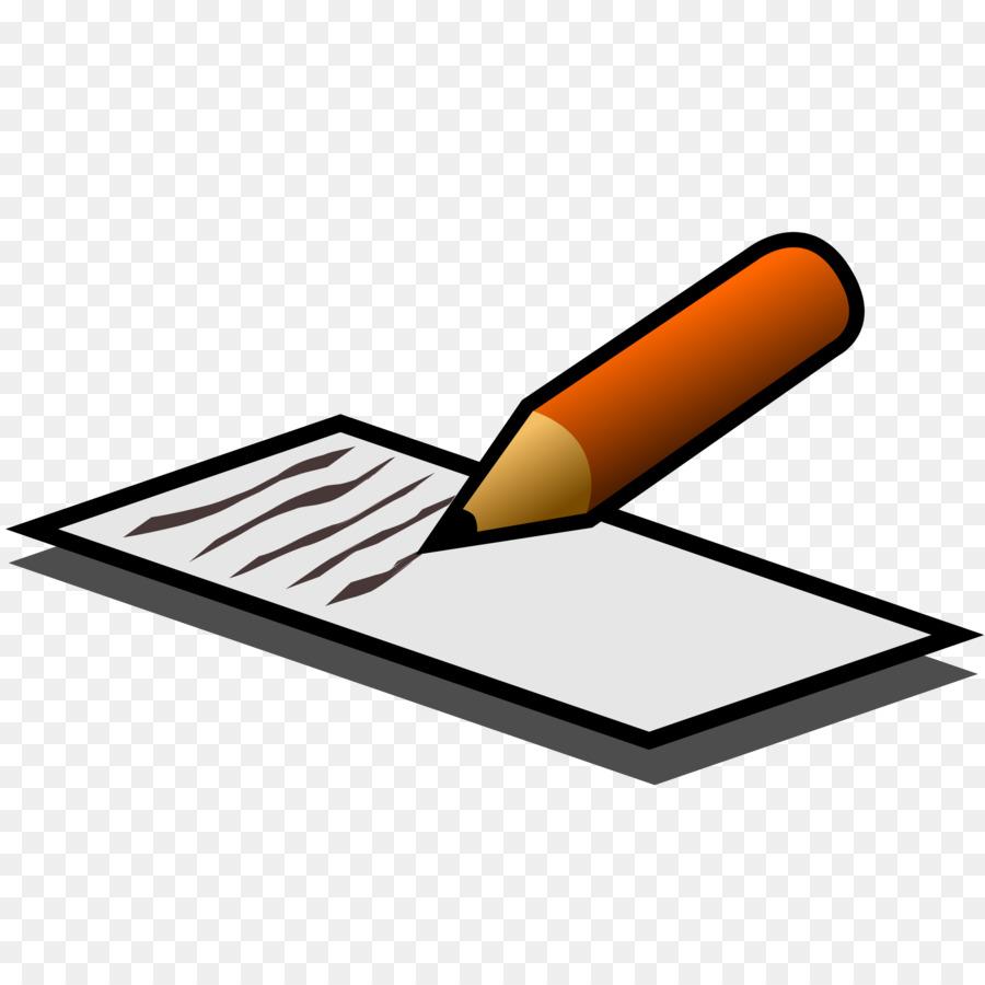 Writing cartoon transparent . Essay clipart clip art