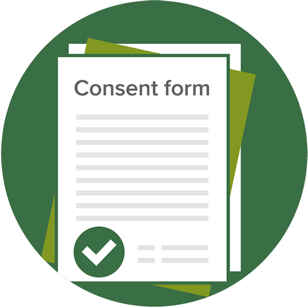 Essay clipart consent form. Images gallery for free