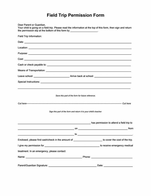 Field trip permission templates. Essay clipart consent form