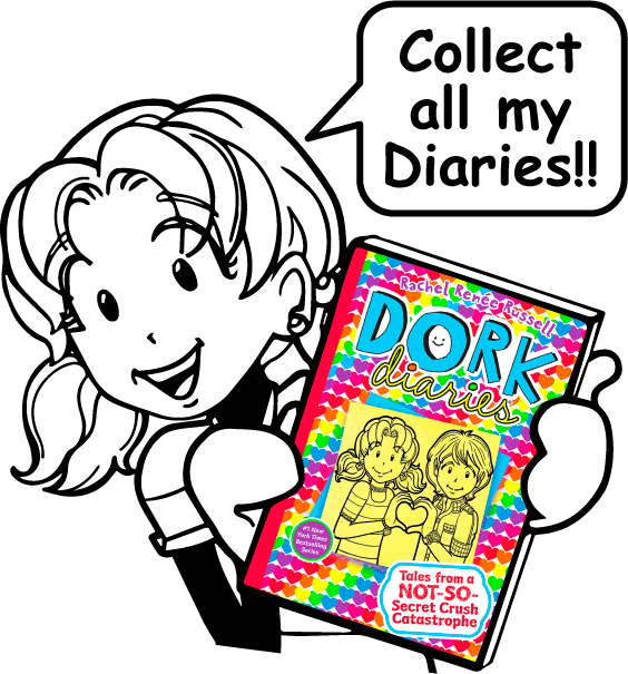 Poetry clipart diary entry. Dork diaries tales from