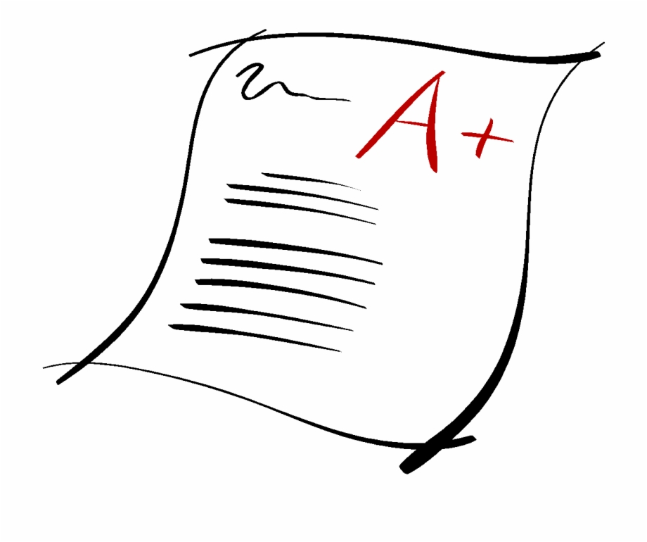 Essay clipart graded paper. Grade free png images