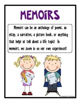 Essay clipart memoir. Poster worksheets teachers pay