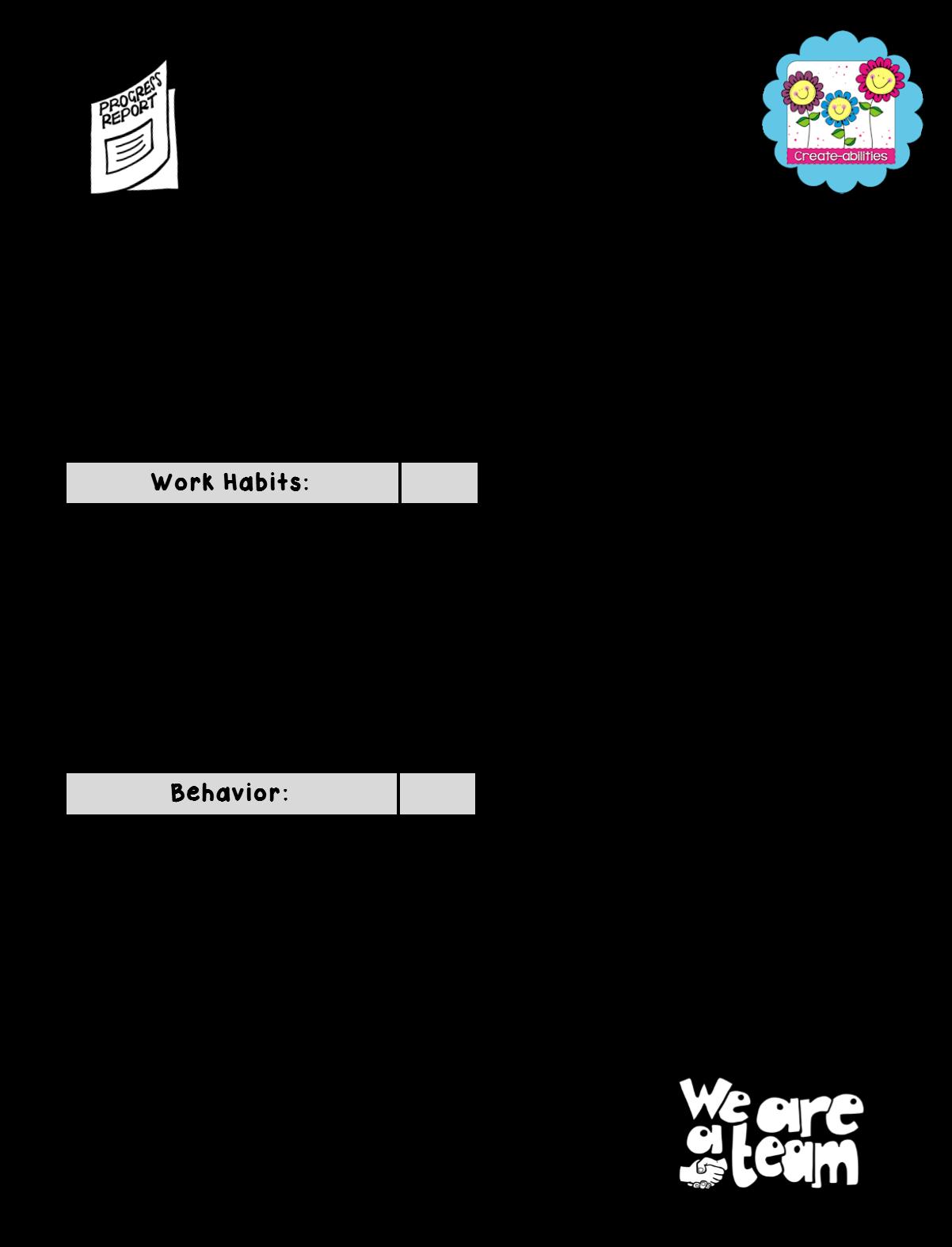 best formatos printables. Essay clipart report card