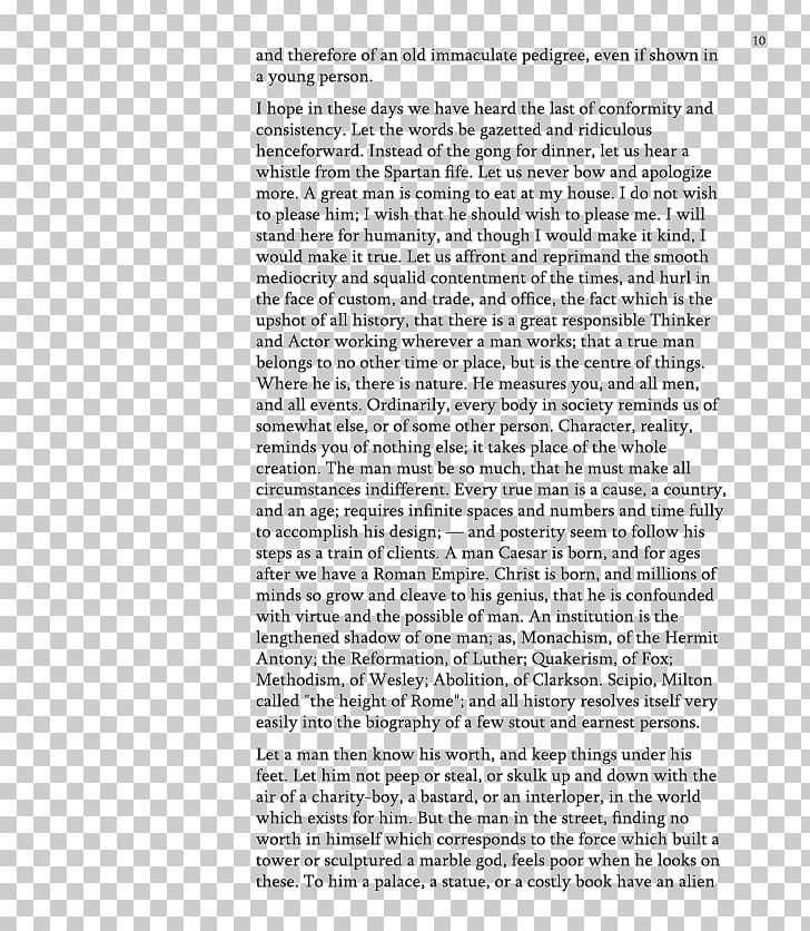 Essay clipart transcendentalism. Self reliance and other
