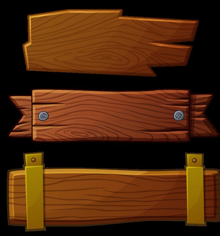 Plaque clipart wood plank, Plaque wood plank Transparent ...