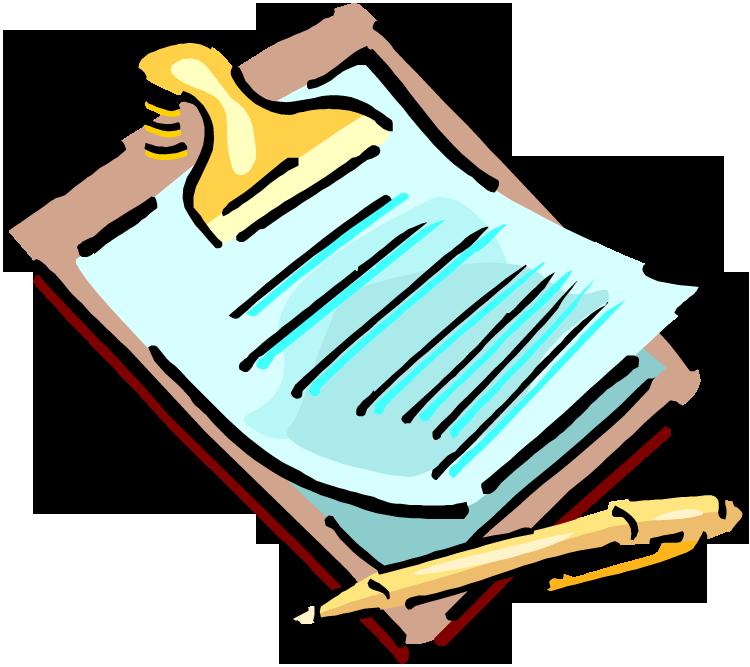 essay clipart written note #101053600