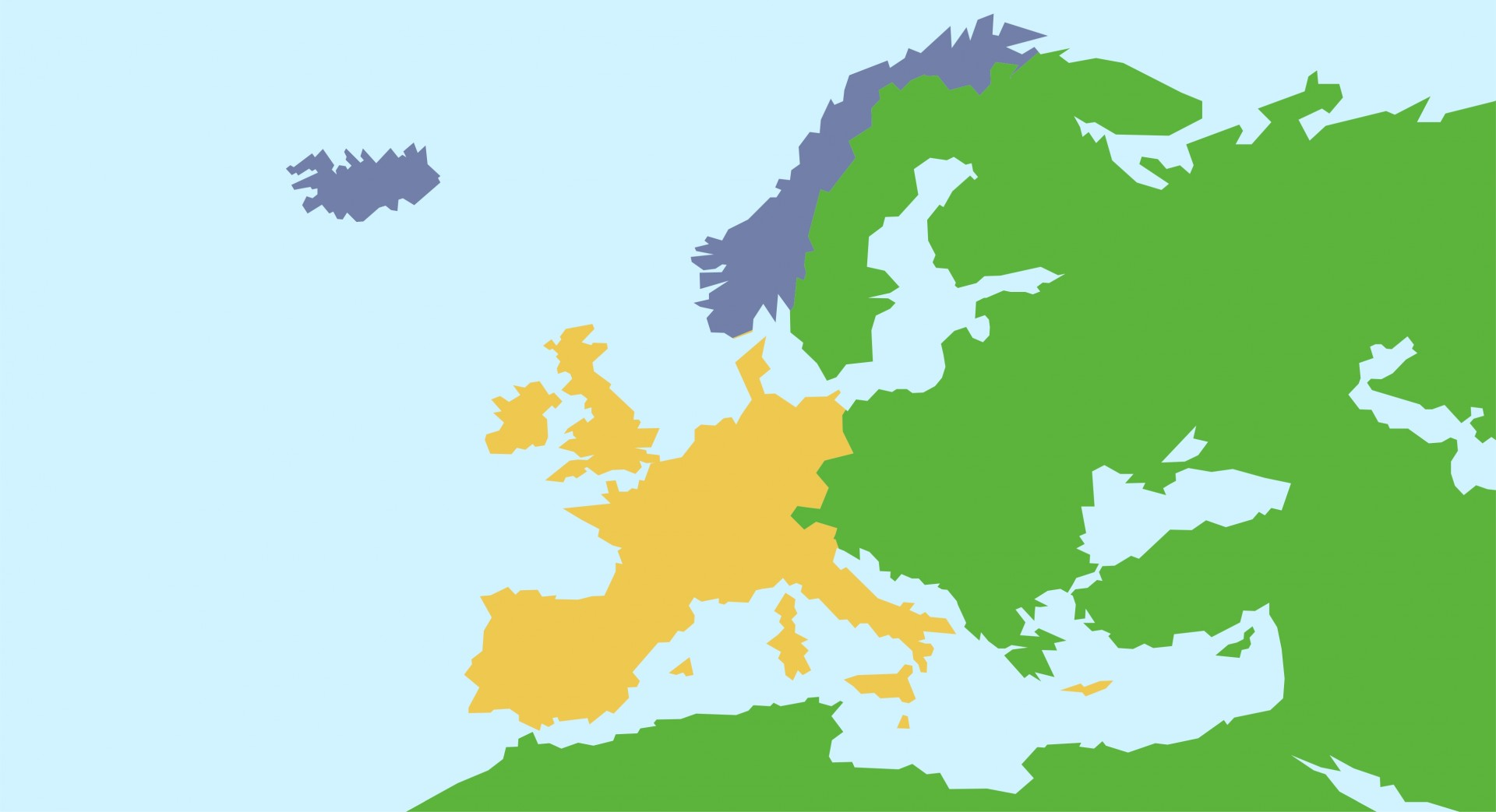 Europe clipart. Map of free stock