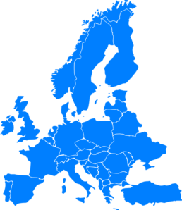 Europe clipart. Clip art at clker