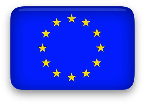 Europe clipart animated. Free european union flags