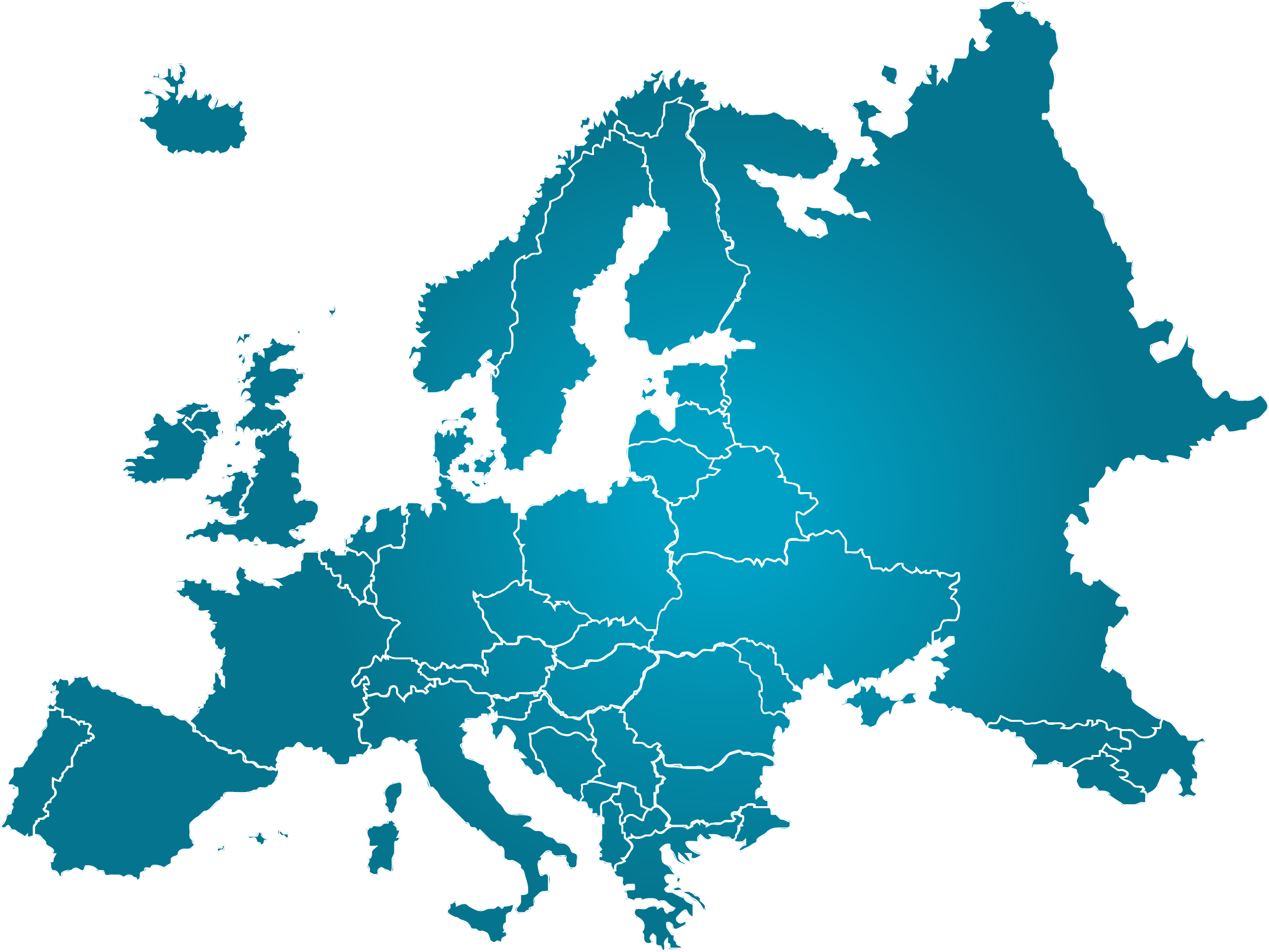 Europe clipart continent. Economie e commerce vers