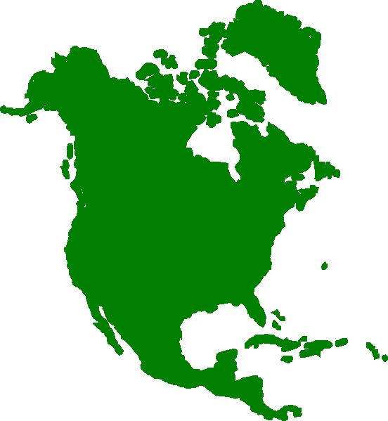 Usa clipart map america. North continent clip art