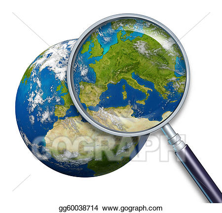 Drawing planet focus on. Europe clipart cool earth