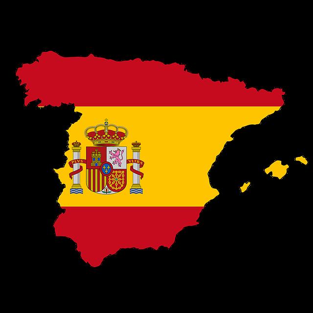 Espagne . Europe clipart doodle