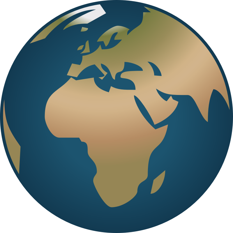 A view from the. Europe clipart earth planet
